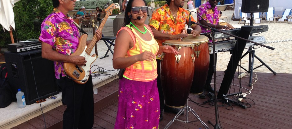 Exile (Caribbean Quartet) at Bar Jack, Ritz-Carlton, Grand Cayman